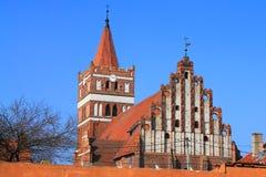 Friedland's Lutheran church Royalty Free Stock Image