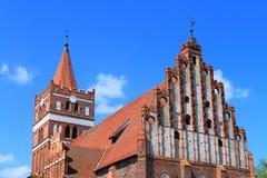 Friedland's Lutheran church Stock Photos