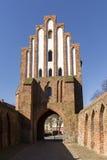 Friedland-Tor von Neubrandenburg, Mecklenburg, Deutschland Lizenzfreie Stockfotos