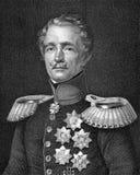 Friedrich冯Wrangel伯爵 免版税库存图片
