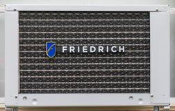 Friedrich Air Conditioning Windows Unit Lizenzfreie Stockbilder