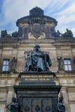 Friedrich August der Gerechte Dresden royaltyfri fotografi