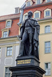 Friedrich August II Statue Stock Photo