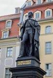 Friedrich August II Statue Stock Photo