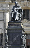 Friedrich August Statue från Dresden i Tyskland Arkivbild