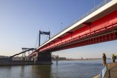 Friedrich ebert bridge duisburg germany Stock Photography
