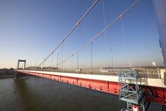 Friedrich ebert bridge duisburg germany Stock Photos