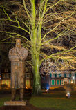 Friedrich Engel`s monument. In Wuppertal Royalty Free Stock Photos