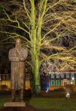 Friedrich Engel`s monument Royalty Free Stock Photos