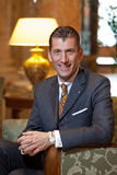 Friedrich Niemann. After five years at the helm of the Athenee Palace Hilton five-star hotel in Bucharest, Friedrich Niemann has decided to change scenery. He Stock Photos