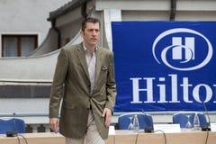 Friedrich Niemann - CEO Hilton Bucharest Lizenzfreies Stockbild