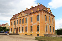 Friedrich palace at Baroque garden Grosssedlitz in Heidenau, Saxony Stock Image