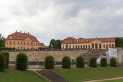 Friedrich palace and orangery at Baroque garden Grosssedlitz in Heidenau, Saxony Stock Images
