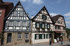 Friedrich Schiller birthplace in Marbach am Neckar Stock Photos