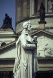Friedrich Schiller Memorial Royalty Free Stock Image