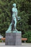 Friedrich Schiller-monument in Mannheim Royalty-vrije Stock Afbeeldingen