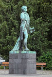 Friedrich Schiller monument in Mannheim Royalty Free Stock Images