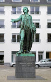 Friedrich Schiller monument in Mannheim Stock Photography