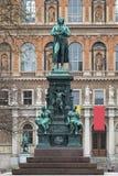 Friedrich Schiller-monument in Wenen, Oostenrijk Royalty-vrije Stock Foto's