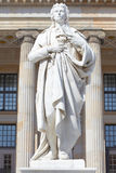 Friedrich Schiller statue Stock Photography