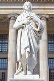 Friedrich Schiller statue Stock Photography