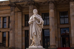 Friedrich Schiller statue Stock Photos