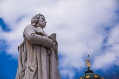 Friedrich Schiller statue Royalty Free Stock Images