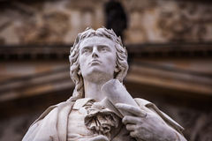 Friedrich Schiller statue Royalty Free Stock Photos