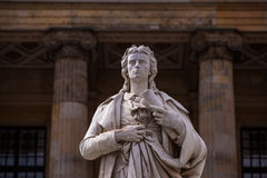Friedrich Schiller statue Royalty Free Stock Photo