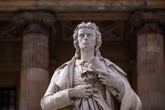 Friedrich Schiller statue Royalty Free Stock Photography