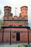 Friedrichsburg门 加里宁格勒(以前Koenigsberg),俄罗斯 免版税图库摄影