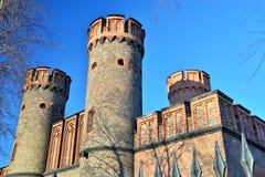 Friedrichsburg Gate - old German Fort in Koenigsberg. Kaliningra Royalty Free Stock Images