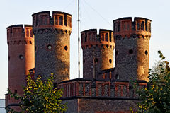 Friedrichsburg gate on a summer evening, Kaliningrad, Russia Royalty Free Stock Images