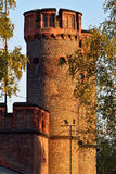 Friedrichsburg gate at sunset. Kaliningrad (formerly Koenigsberg Royalty Free Stock Image
