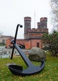 Friedrichsburg portar i Kaliningrad Arkivfoton