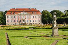 Friedrichsfelde Palace Stock Photos
