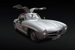 FRIEDRICHSHAFEN, DEUTSCHLAND - 13. APRIL 2011: Mercedes-Benz 300 SL w Stockfotografie