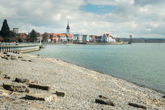 Friedrichshafen, Germany. View of the small city Friedrichshafen, Germany stock photography