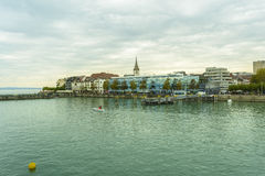 Friedrichshafen harbor, Baden-Wurttemberg, Germany. Royalty Free Stock Photography