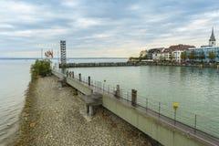 Friedrichshafen harbor on BodenSee lake, Baden-Wurttemberg, Germany Stock Photo