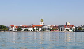 Friedrichshafen on Lake Constance in Germany Royalty Free Stock Image