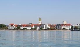 Friedrichshafen na Jeziornym Constance w Niemcy Obraz Royalty Free