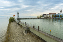 Friedrichshafen schronienie na BodenSee jeziorze, Baden-Wurttemberg, Niemcy Zdjęcie Stock