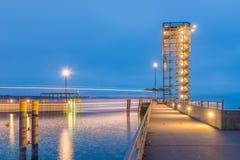 Friedrichshafen - sighttorn Royaltyfri Foto