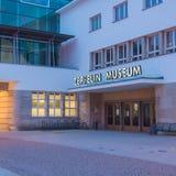 Friedrichshafen - zeppelinaremuseum Royaltyfria Bilder