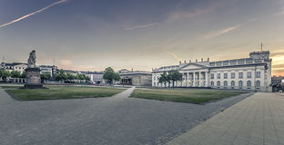 Friedrichsplatz in Kassel / Germany in the early morning Royalty Free Stock Images