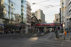 Friedrichstraße Street in Berlin stock photos