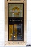 Friedrichstrasse的商业银行办公室 免版税库存图片