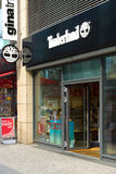 Friedrichstrasse的林地商店 库存照片