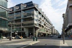 Friedrichstrasse -是其中一条最著名的街道 库存图片